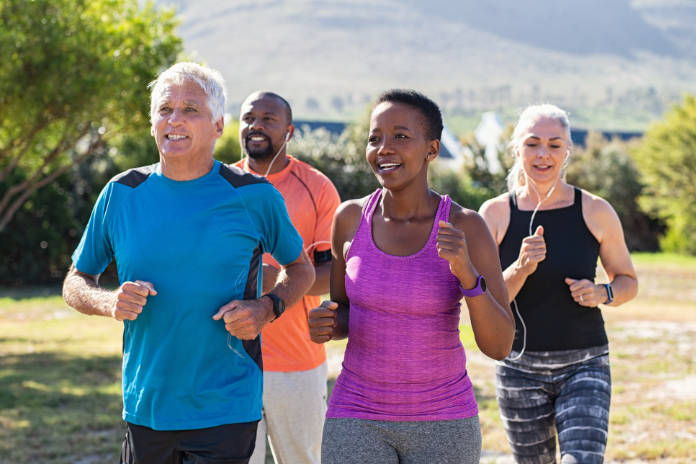 Fitness mindset running
