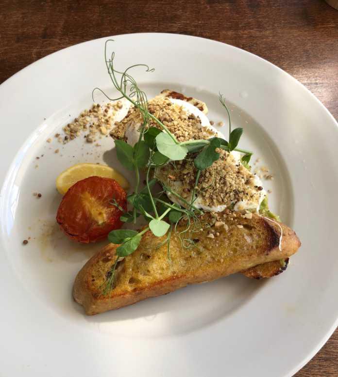 Delicious Dukkah Eggs at Bush Pepper (Gareth Cotter-Stone/PA)
