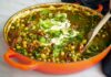Spinach and chickpea curry recipe (Nassima Rothacker/PA)