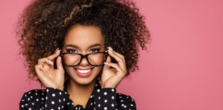 Eye makeup for glasses wearers
