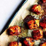 Yoghurt and spice-roasted salmon (Kris Kirkham/PA)