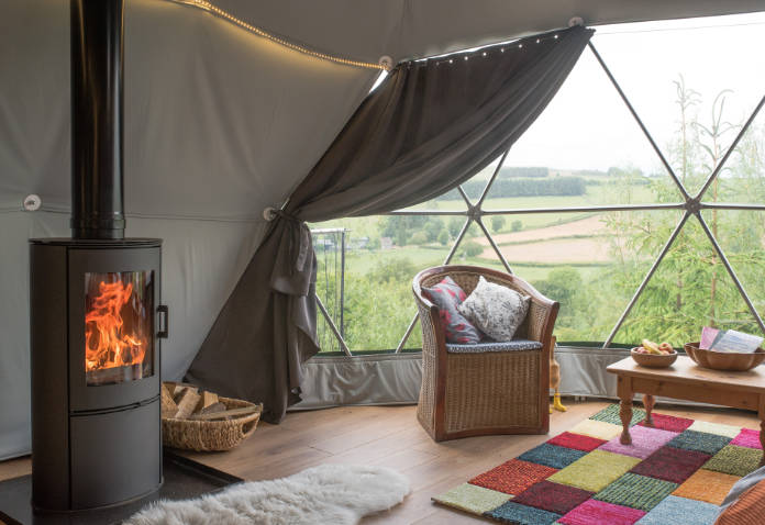 Glamping in Wales