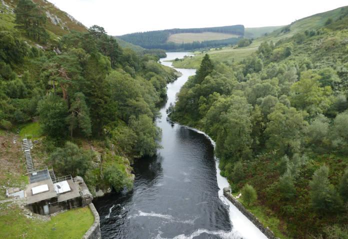 View from Craig Goch dam
