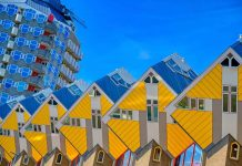 Weird architecture Rotterdam Cube Houses