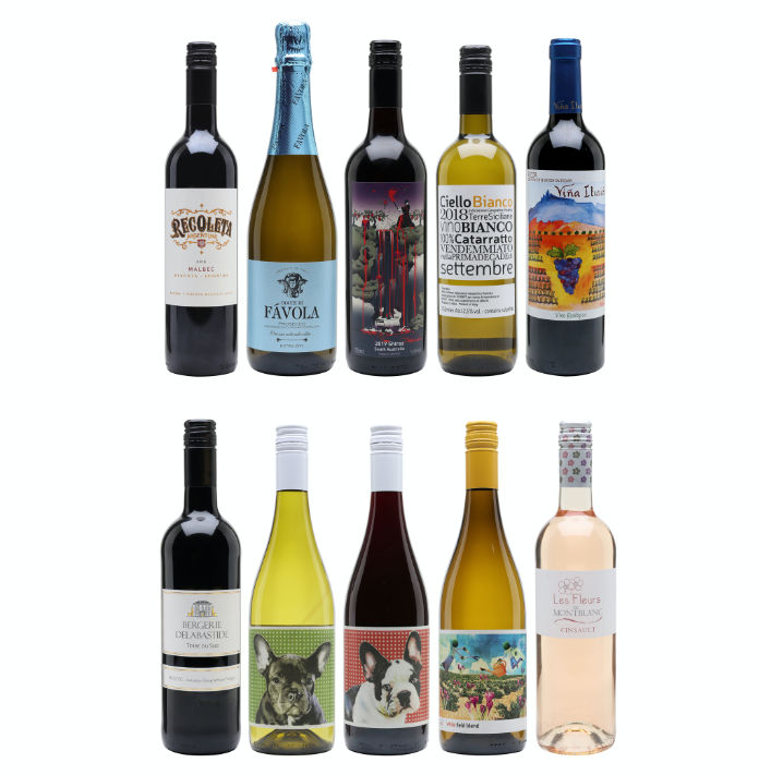 Best Selling Wines Case – 10 Bottles