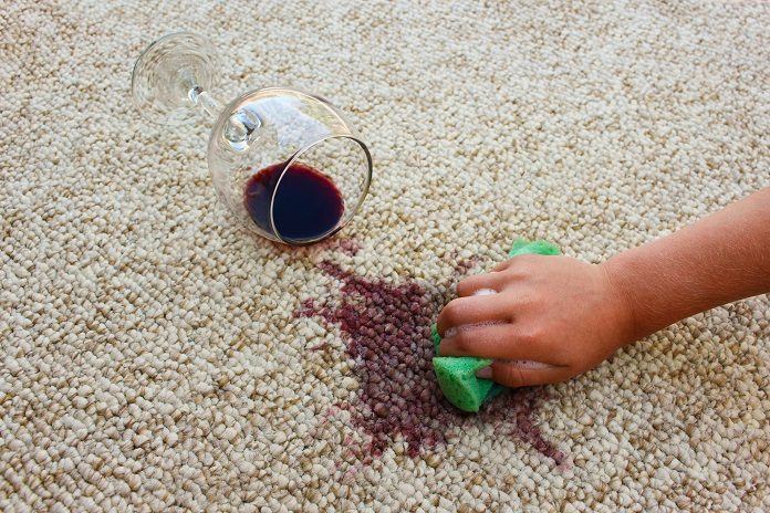 carpet spill; how to get stains out of a sofa