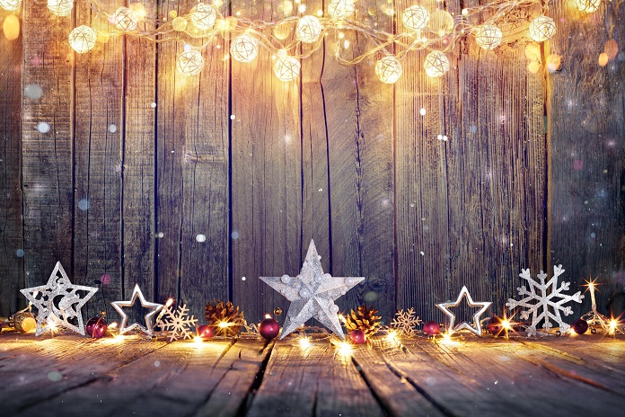 How to hang fairy lights - add festive sparkle