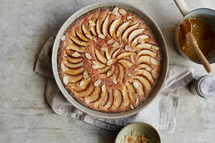 Brioche frangipane from Simple Comforts by Mary Berry (Laura Edwards/PA)