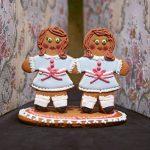 Halloween recipes: Gingerdead twins (Patricia Niven/Quadrille/PA)