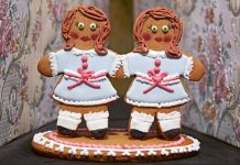 Halloween recipes: Gingerdead twins (Patricia Niven/Quadrille/PA)