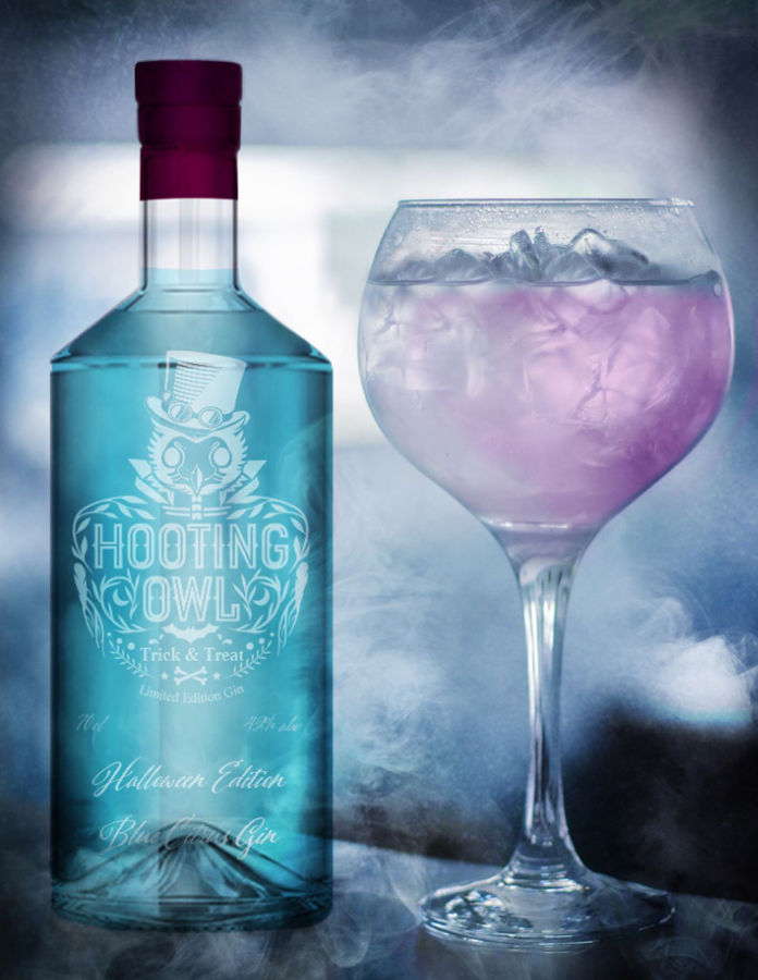 Hooting Owl Trick and Treat – Limited Edition Colour-Changing Gin