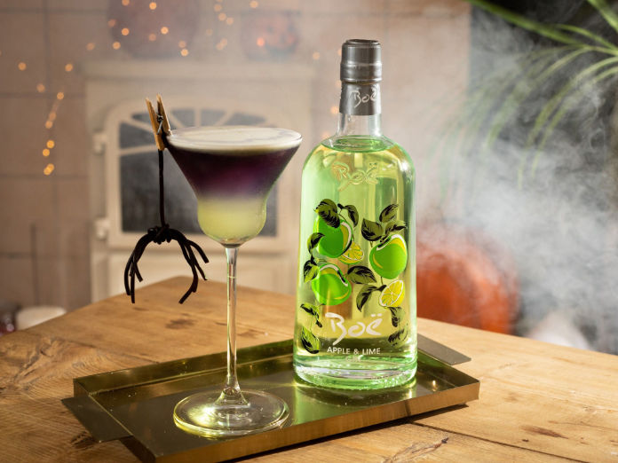 The Boë Haunted House Apple and Lime Cocktail