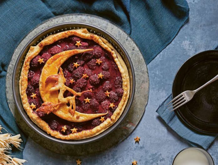 Halloween recipe: Moon Witch Blackberry Pie (Patricia Niven/Quadrille/PA)