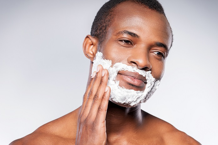 How to shave a beard
