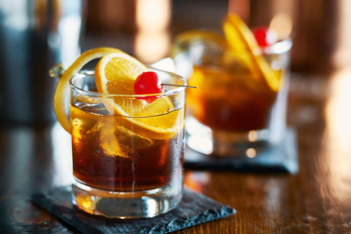 Scotch whisky old fashioned