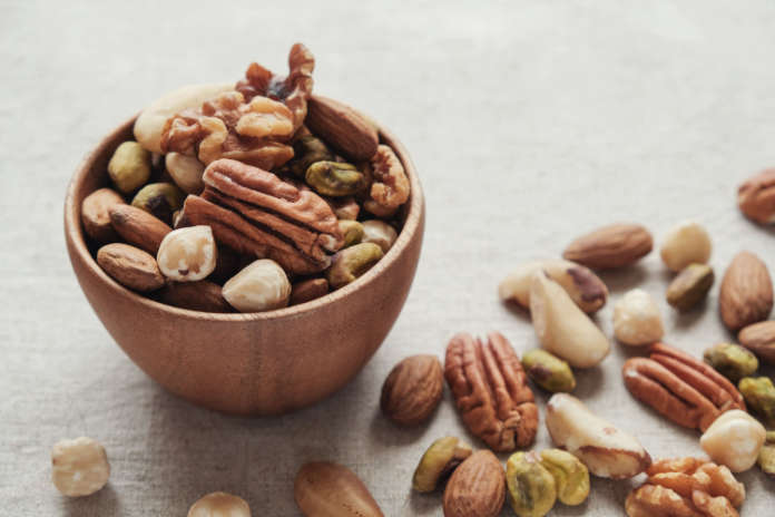 Foods that aid sleep nuts