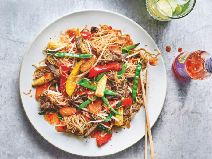 Chilli Beef stir fry recipe (Pavilion/Martin Poole/PA)