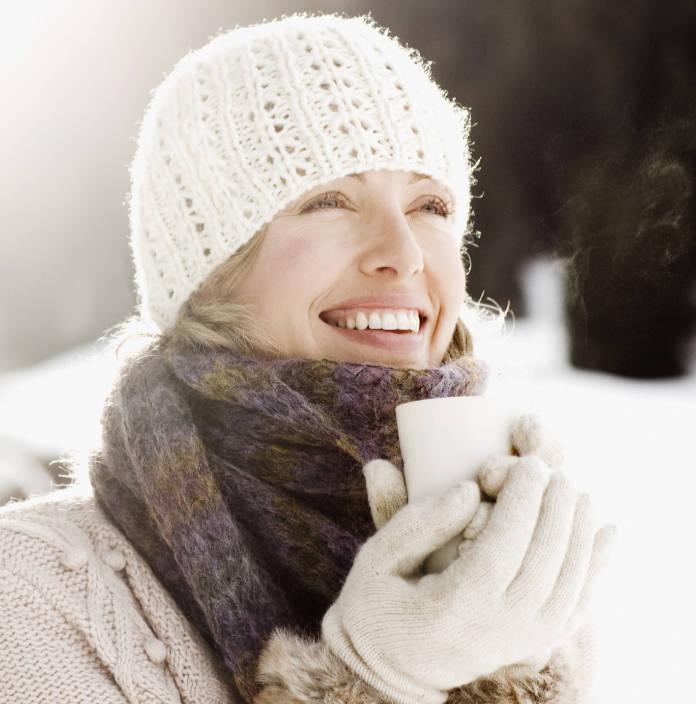 woman enjoying outdoors boosting vitamin D