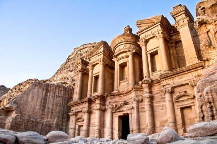 Top travel destinations Petra