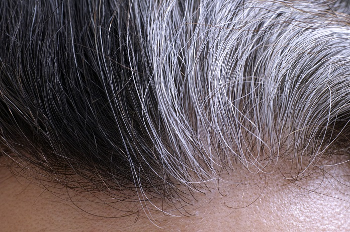 why does hair go grey