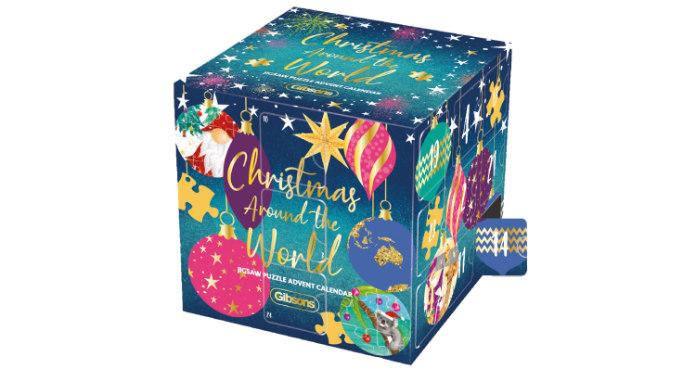 Gibson's Christmas Around The World Jigsaw Puzzle Advent Calendar