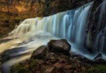 Amazing waterfalls in the UK and Ireland – Sgwd Isaf Clun-gwyn Falls