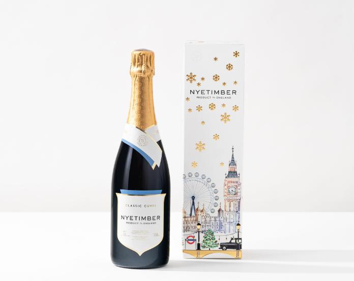 Christmas drink gift sets - (Nyetimber_PA)