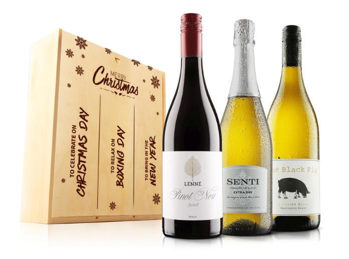 Christmas drink gift sets - (Virgin Wines_PA)