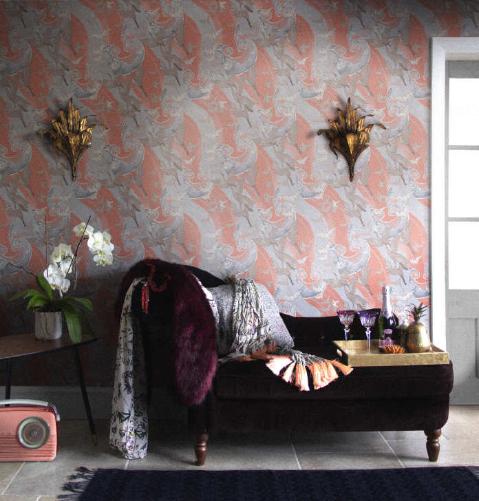 Craney Day Wallpaper from the Signature Collection by Laurence Llewelyn-Bowen, £59 a roll, Wallpaper Direct