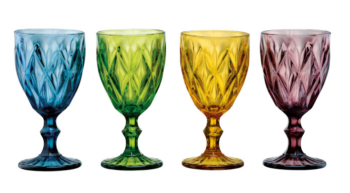 Set of 4 Highgate Goblets by Artland