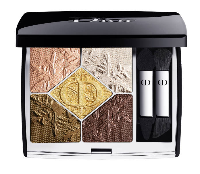 Dior 5 Couleurs Couture Golden Nights Collection Limited Edition Eyeshadow Palette in Golden Snow