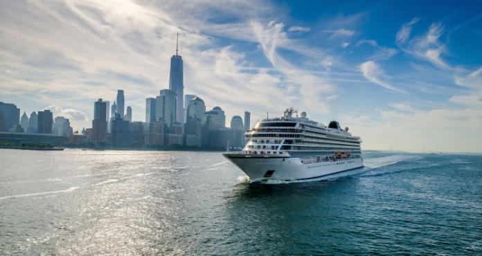 Viking Star visits the skyscrapers of Manhattan (Viking/PA)