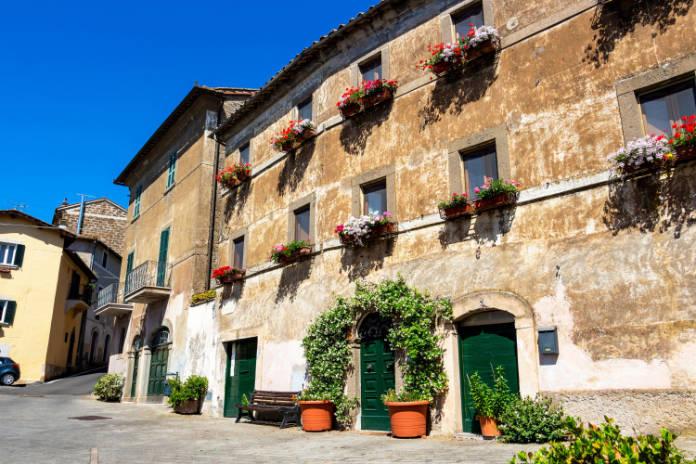 Italian cities Bassano in Teverina, Latium