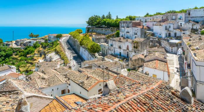 Italian cities Monte Sant'Angelo, Foggia