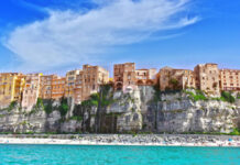 Italian cities The city of Tropea, Calabria, Italy