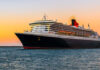 Non-air travel Cunard Line flagship Queen Mary 2