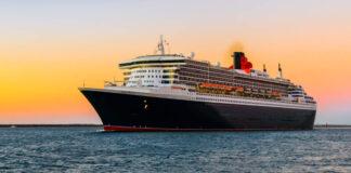 Non-air travel Cunard Line flagship Queen Mary 2