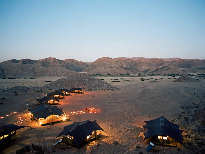 Off-grid travel destinations - Hoanib Valley