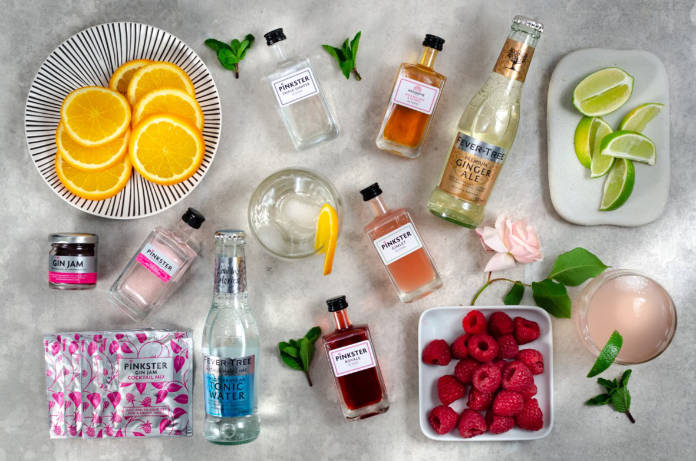 The Pinkster Home Gin Tasting Kit for Two