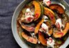 Roast pumpkin with mozzarella and chilli (Dora Kazmierak/PA)
