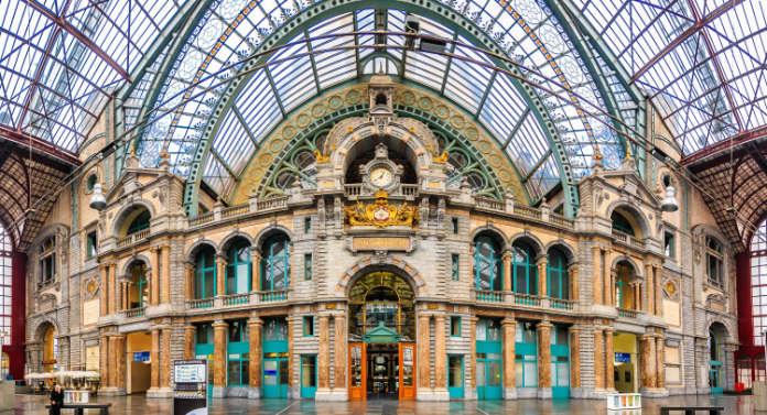 Antwerp Central, Belgium