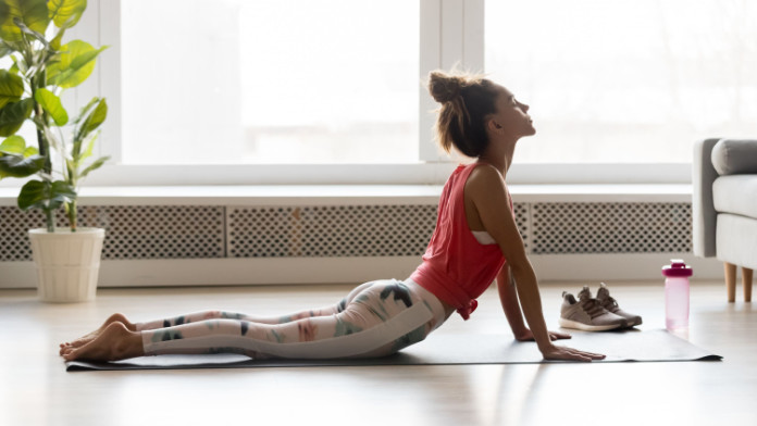 Gentle stretching can help ease things up