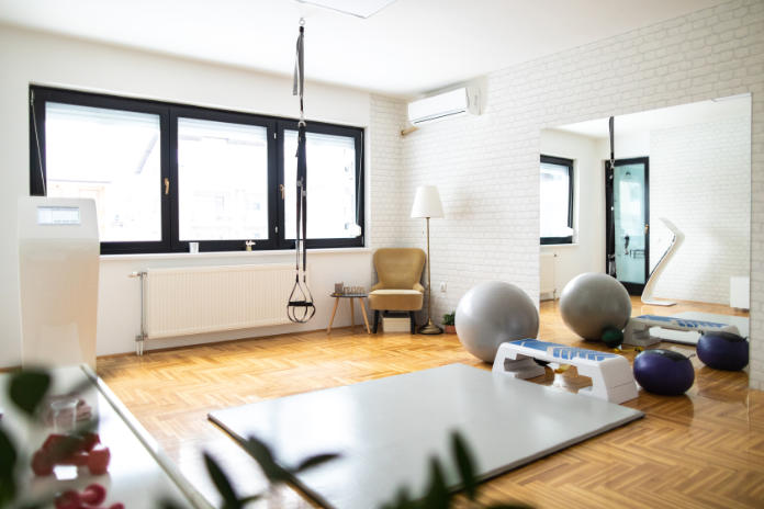Create a dedicated area for your home gym