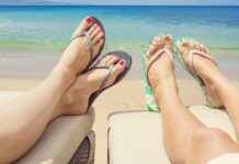 how to keep your feet soft in the summer