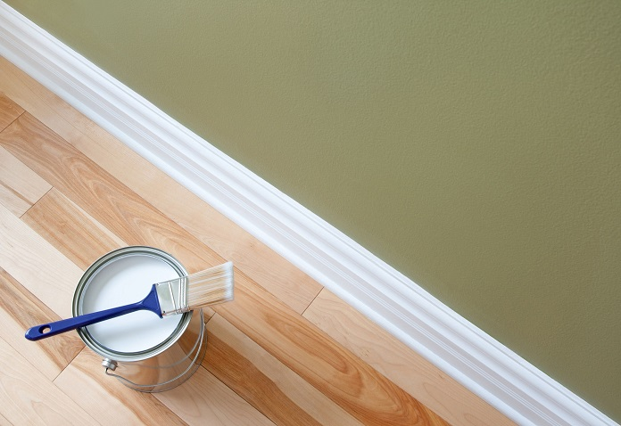 how to paint interior wood