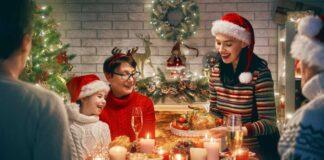 Traditional Christmas foods Family Christmas dinner