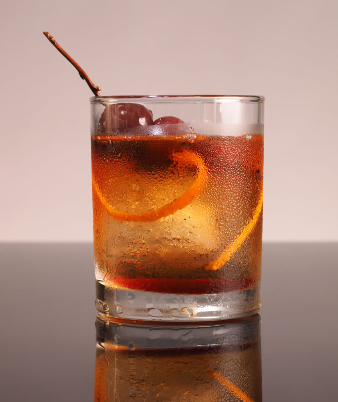 """The new look being used for """"Old Fashioned"""" cocktail."""