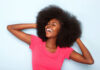 Afro hair treatment