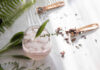 Flavoured pink gin with botanical herbs (iStock/PA)