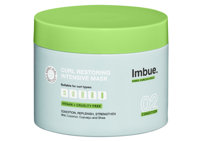 Curly hair Imbue Mask product